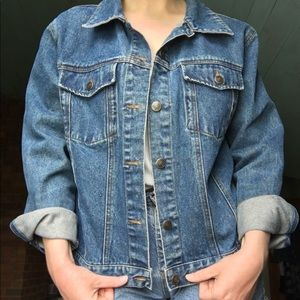 🌿VTG Oversized Denim Jacket